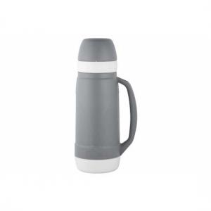 Grijze thermosfles/isoleerkan 1,8 liter