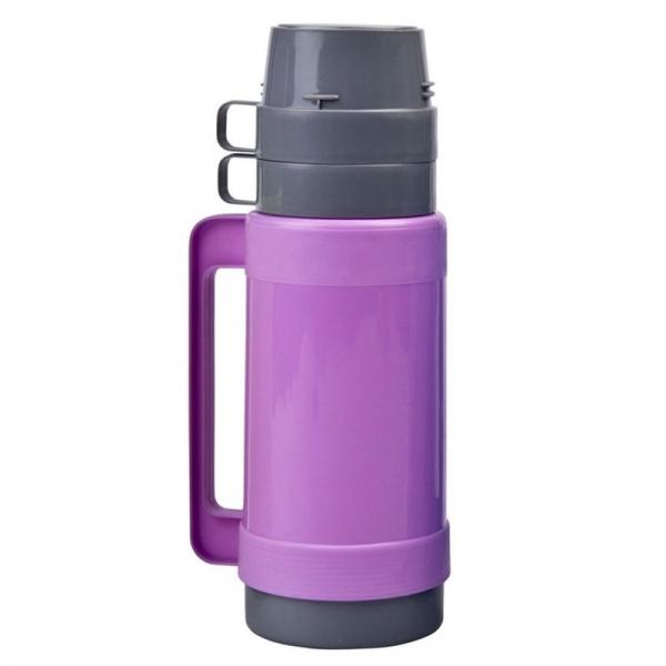 Thermoskan/isoleerkan 1 liter paars