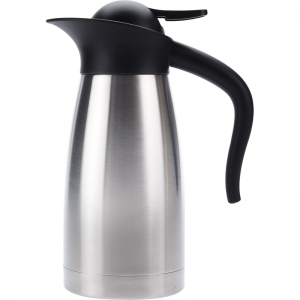 Koffiekan/thermoskan dubbelwandig 1 liter