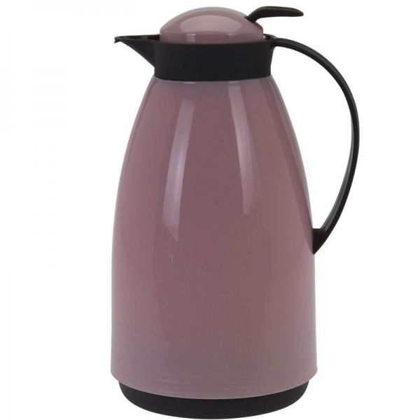 Koffiekan/isoleerkan 1 liter roze