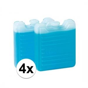 4x mini koelelementen Thermos 2 stuks